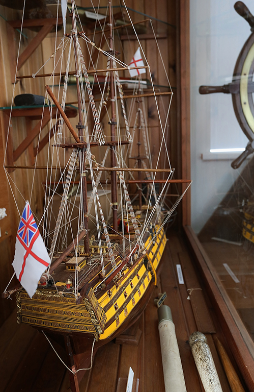 Models and artifacts of the Maryport Maritime Museum
