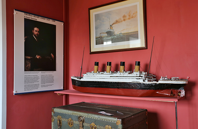 Titanic story at the Maryport Maritime Museum